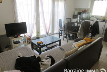 EXCLUSIVITÉ A VENDRE BREST SAINT MARTIN APPARTEMENT T2 43.35 M² BALCON PARKING ASCENSEUR LOCATAIRE EN PLACE
